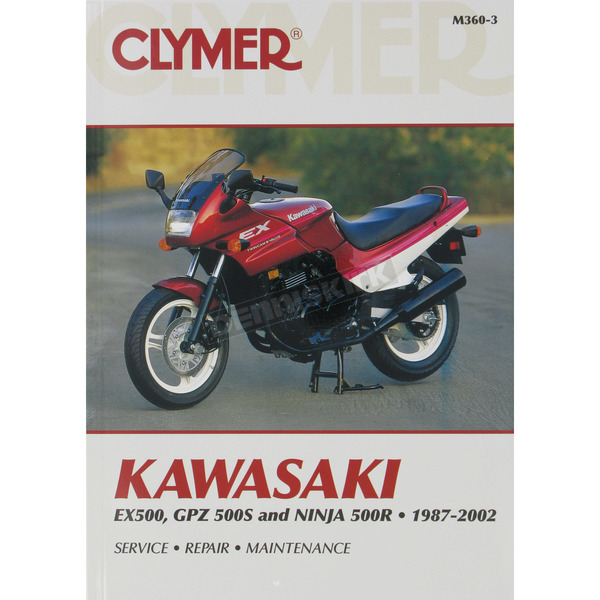 Clymer Kawasaki Repair Manual  - M360-3