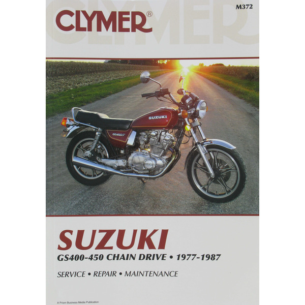 Clymer Suzuki Repair Manual  - M372