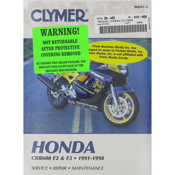 Clymer Honda Repair Manual   - M441-2