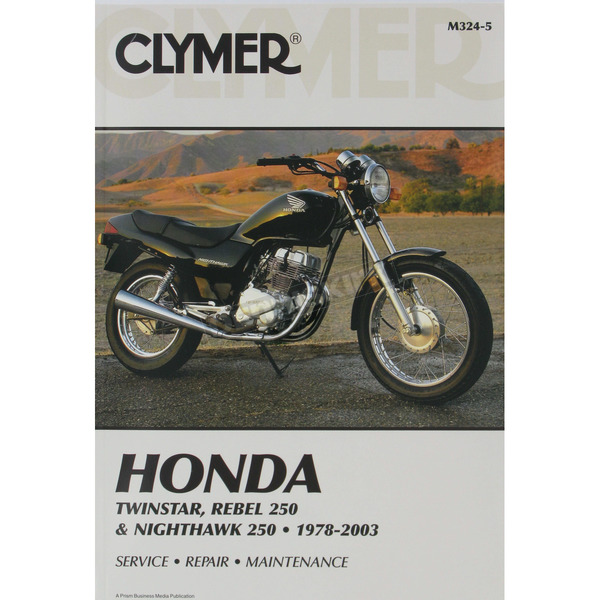 Clymer Honda Repair Manual  - M324-5