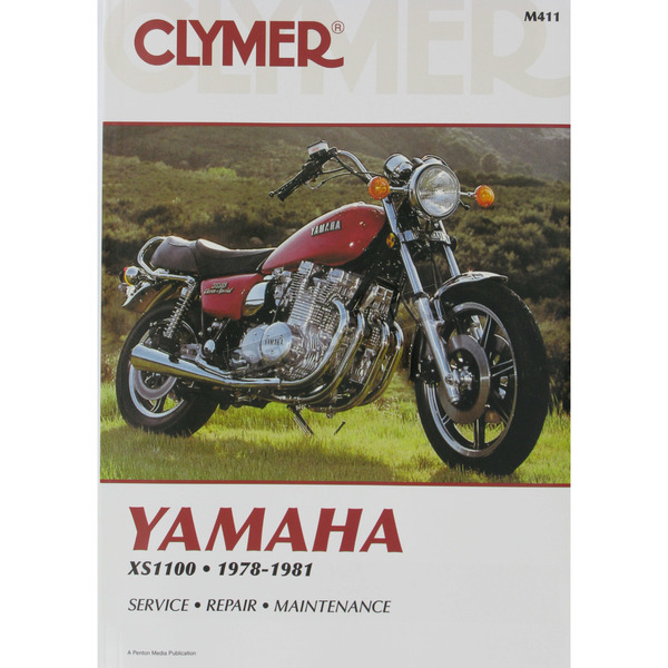 Clymer Yamaha Repair Manual   - M411