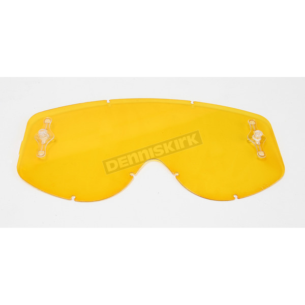 Scott Yellow WORKS Single Lens for 80s and Recoil Series Goggles  - 206710-029