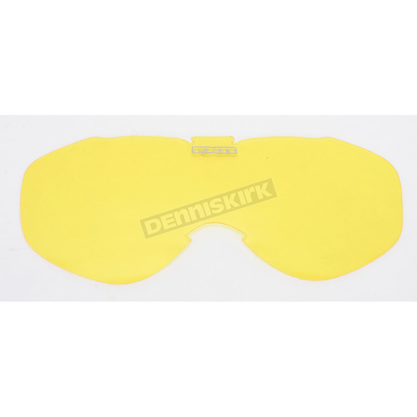 FXR Racing Yellow Single Lens for Nitro Goggles - 8442