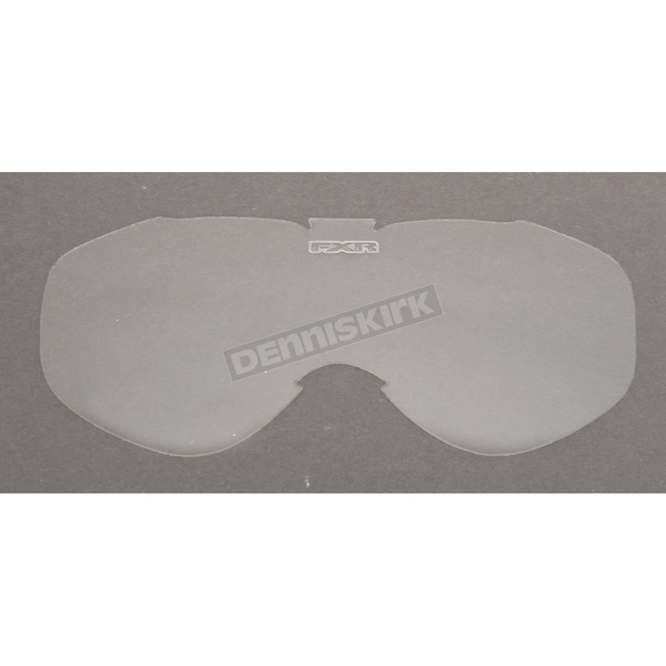 FXR Racing Clear Single Lens for Nitro Goggles - 8442