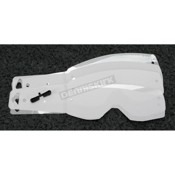 Scott Clear Prostack Tearoffs for Hustle, Split and Tyrant Series Goggles - 219709-223