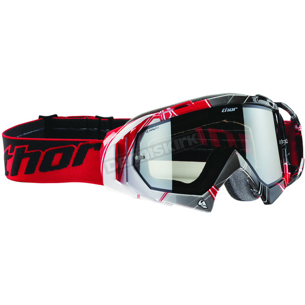 Thor Red/White/Black Hero Goggles - 26011283