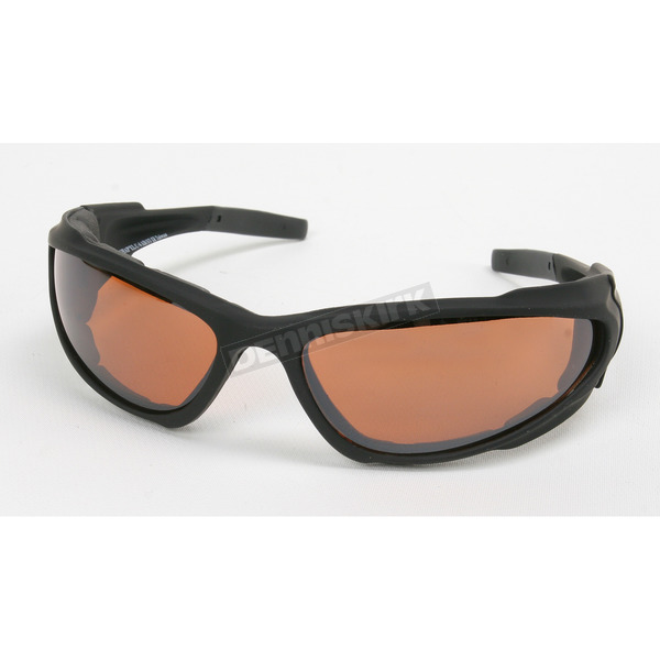 Chapel Black C-4 Performance Sunglasses w/Driving Lens - C-4BK/DR