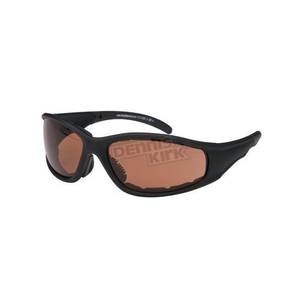 Chapel Black C-9 Performance Sunglasses w/Driving Lens - C-9BK/DR