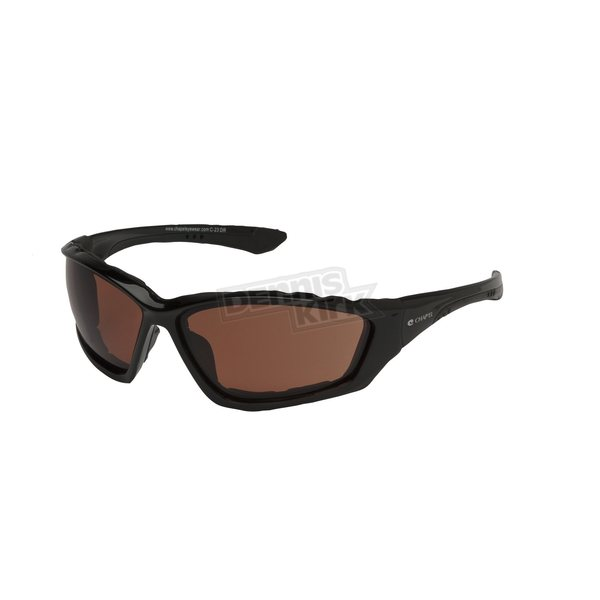 Chapel Black C-23 Performance Sunglasses w/Driving Lens - C-23BK/HD