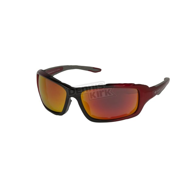 Chapel Red C-19 RV Performance Sunglasses w/Red RV Lens - C-19RED/RED