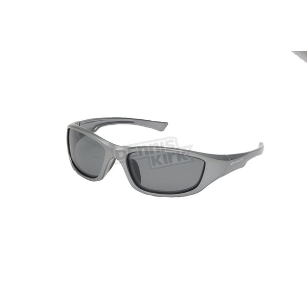 Chapel Pewter Safety C-125 Sunglasses w/Smoke Lens - C-125PWTR/SM