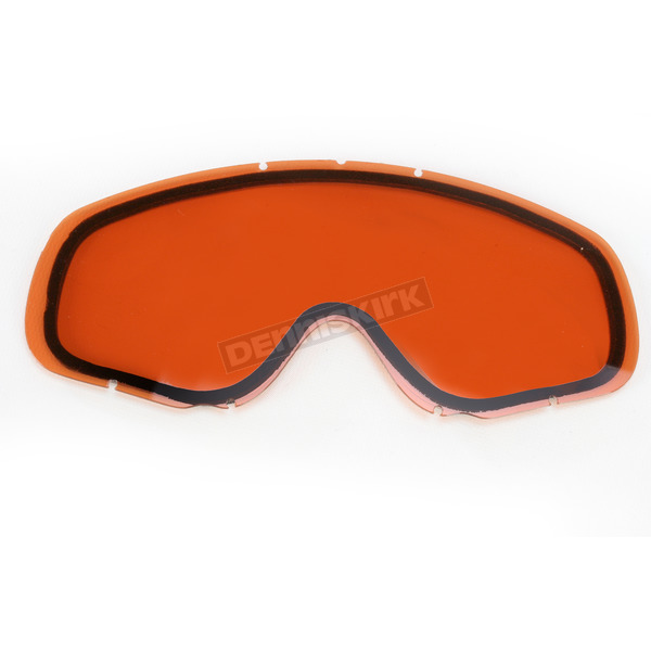 Amber Dual Anti-Scratch/Anti-Fog Lens for YH-18DL Goggles - 120043