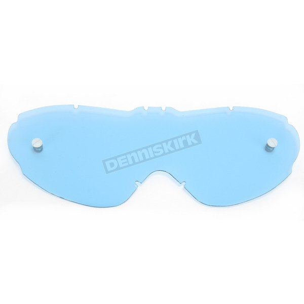 Moose Blue Tint Replacement Lens for Scott Works Voltage Goggles - 2602-0542