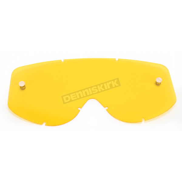 Moose Yellow Tint Replacement Lens for Scott Works Xi 83-89 Goggles - 2602-0545