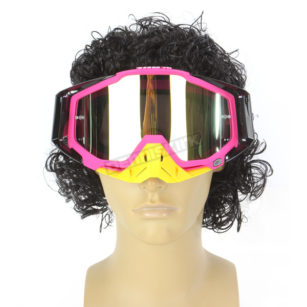 100% Black/Pink Racecraft Hyperion Goggles  - 50110-070-02