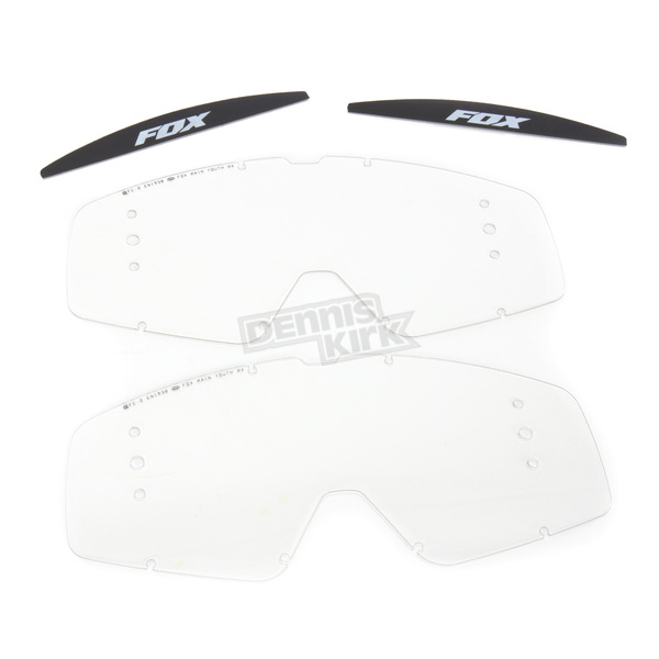 Fox Roll-Off Replacement Lenses for Youth Main Goggles - 08188-901-OS