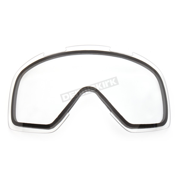 FXR Racing Clear Dual Replacement Lens - 14441