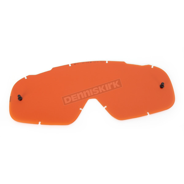 Fox Contrast Orange Single Lexan Anti-Fog Replacement Lens for Air Space Goggles - 08056-904-OS