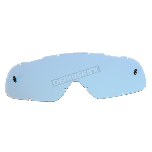Fox Blue Spark/Grey Base Single Lexan Anti-Fog Replacement Lens for Air Space Goggles - 08078-905-OS