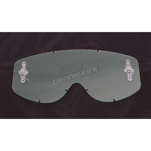 Clear Anti-Fog WORKS Single Lens for 80s and Recoil Series Goggles  - 206710-041