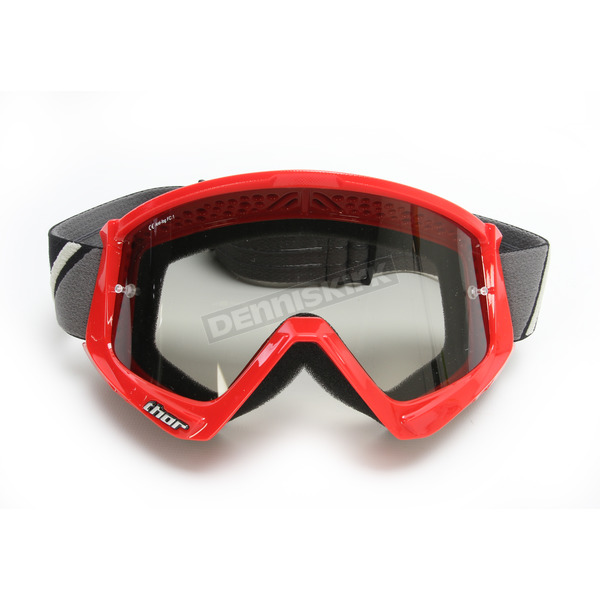 Thor Red/Black Combat Sand Goggles - 2601-2084