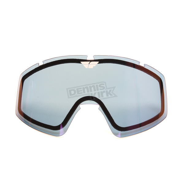 Fly Racing Blue Mirror Replacement Dual Lens for Zone/Focus Goggles - 37-2417