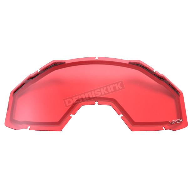 Klim Rose Tint Replacement Double Lens for Viper Goggles - 3981-000-000-006