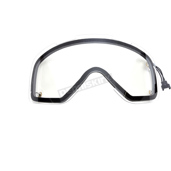 fxr racing clear mission electric goggle spare lens