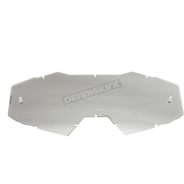 Klim Smoke Silver Mirror Replacement Single Lens for Viper Goggles - 3982-000-000-003