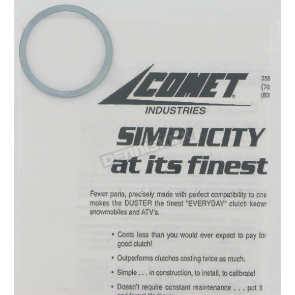Comet Belt Spacers for 102-C thru 87 Partial Clutch - 207398A