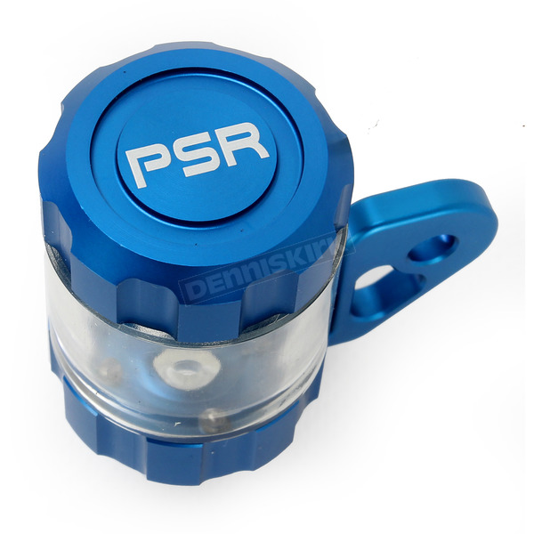 Powerstands Racing Blue/Transparent Clutch Reservior - 00-01807-25