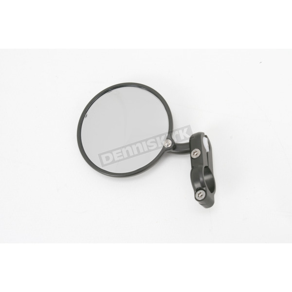 Constructors Racing Group Black Hindsight Bar End Mirror - HS-100-L