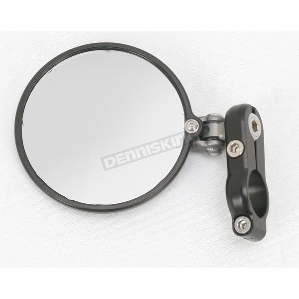 Constructors Racing Group Black Hindsight LS Bar End Mirror - HSLS-200-L
