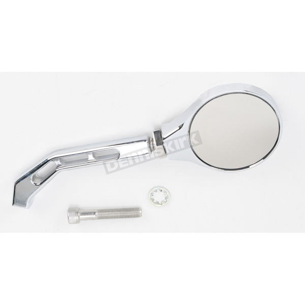 Joker Machine Chrome View Tech II Billet Mirror - 03-07
