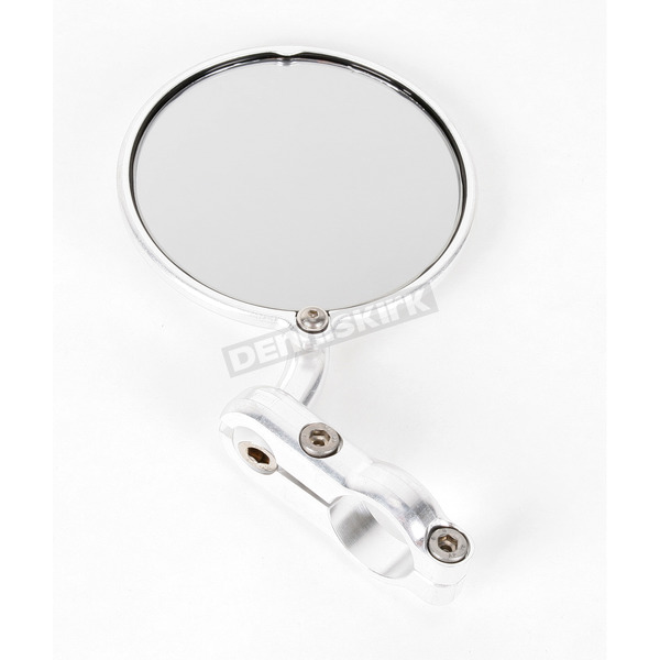 Constructors Racing Group Silver Hindsight Bar End Mirror - HS-201-R