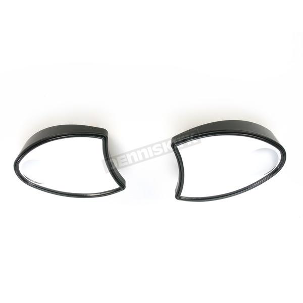 V-Factor Black Fairing Mount Mirrors - 47086