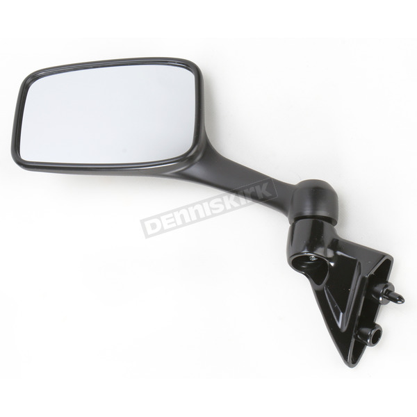 Emgo Black OEM Rectangular Mirror - 20-43082