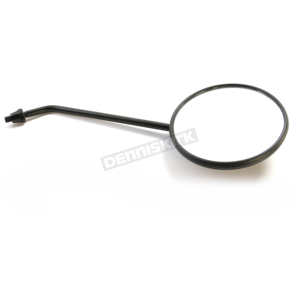 Parts Unlimited Black Universal Scooter Mirror - 0640-0972