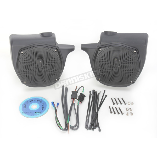 J&M Corporation Rokker XX Series 7 1/4 in. Lower Fairing Speaker Kit - HLRK-7252-RXX