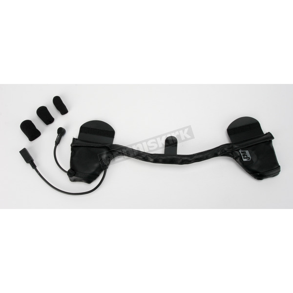 J&M Corporation Performance 284 Headset w/HO Mic for Most Shorty Style 1/2 Helmets - HS-ICD284-HHU-H
