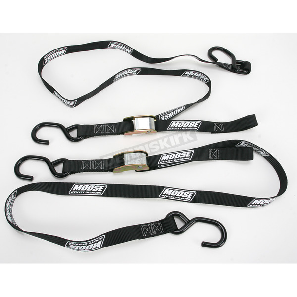 Moose Black 1 in. Heavy-Duty Tie-Downs - 3920-0294