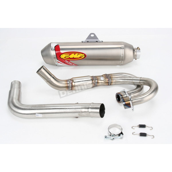 FMF Factory 4.1 Natural Titanium System - 044213