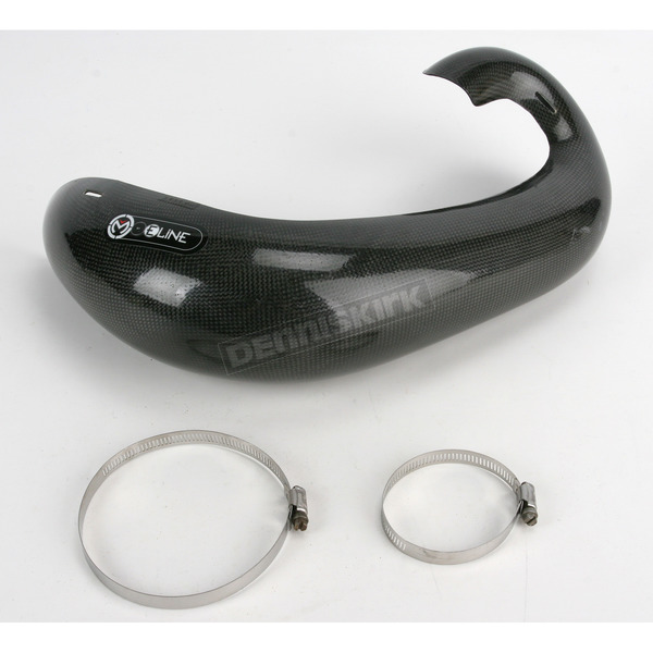 FMF Moose Racing Exhaust Pipe Guards by Eline - 1861-0536