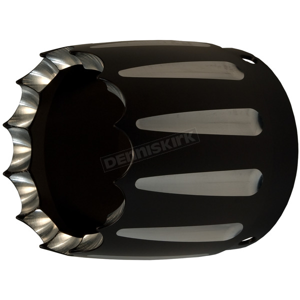 Supertrapp Black Afterburner End Cap for Super Elite 3 1/2 in. Slip-On Mufflers - 108-8035