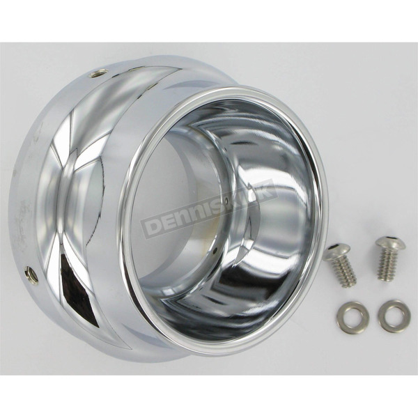 Klock Werks 4 in. Polished End Caps for WFB Performance Mufflers - 18600254