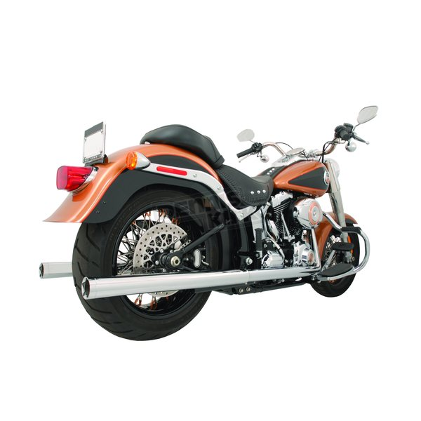 Freedom Performance True Dual 2.5 in. Straight Cut Exhaust System - HD05003