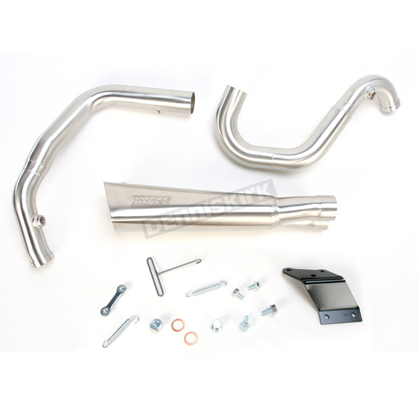 Vance & Hines Brushed Stainless Steel Competition Series 2-into-1 Exhaust System - 751174