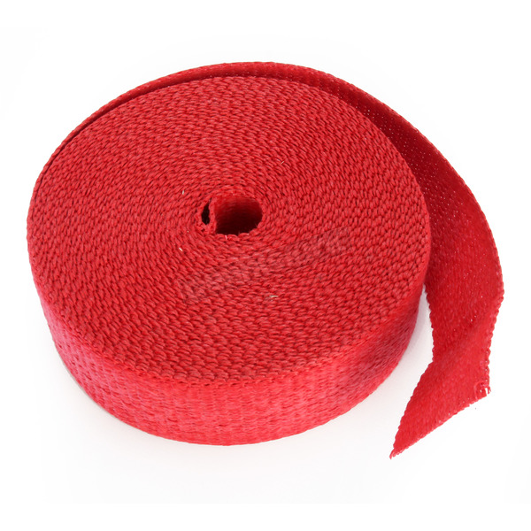 Cycle Performance Red 2in. x 50ft. Exhaust Pipe Wrap - CPP/9068-50