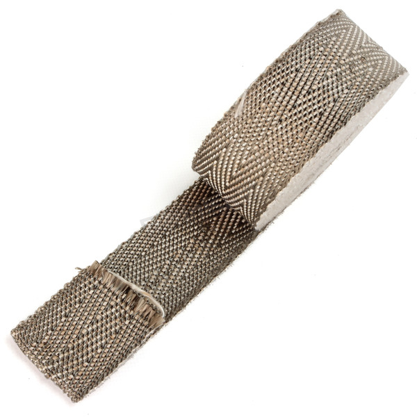 Cycle Performance Natural/Metallic 2 in. X 25 ft. Exhaust Pipe Wrap W/ Silver Tie Wraps - CPP/9065SL