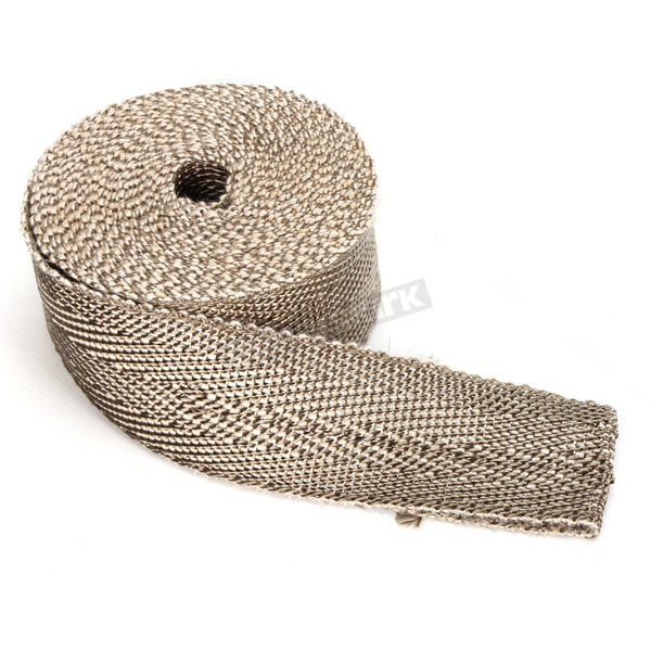 Cycle Performance Natural/Metallic 2 in. X 50 ft. Exhaust Pipe Wrap  - CPP/9065-50